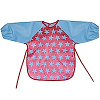 John Lewis Star Long Sleeve Bib
