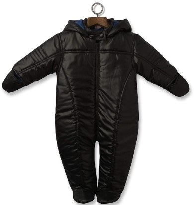 black snowsuit by Adams