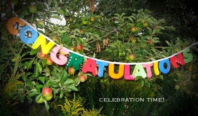 congratulations bunting by mybunting.co.uk