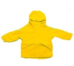 Molo sunshine yellow sowester rain coat