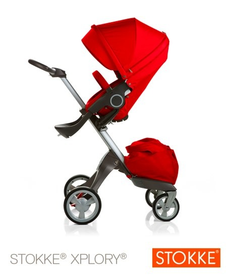 new red stokke xplory
