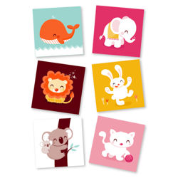 animal cards by ocechou