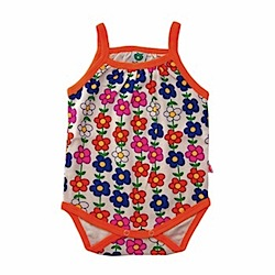 Smafolk Flower Power Girl's Romper