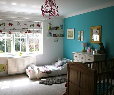 Room Tour: Turquoise Sibling Room