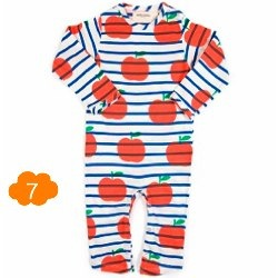 Apple Onesie by Bobo Choses