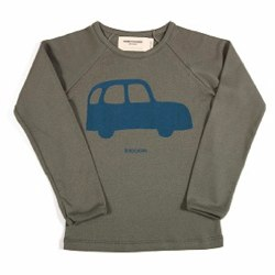Car Long Sleeve T-Shirt by Bobo Choses
