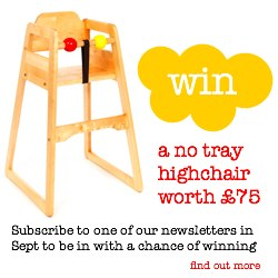 no tray highchair