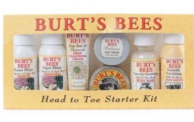 Hot Buy of the Day: Burts Bees Head to Toe Starter Kit