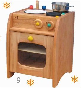 Norbert Wooden Play Kitchen