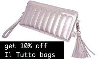 Get 10% off Il Tutto changing bags