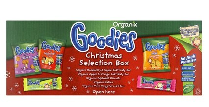 Organix Christmas selection pack