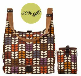 Orla Kiely changing bag