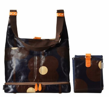Orla Kiely baby changing bag