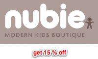 Get 15% off at Nubie the modern kids boutique