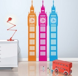 Ideas for London-themed children\'s rooms