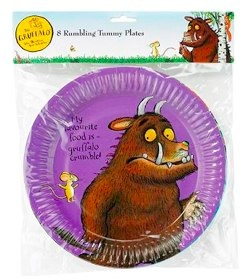 gruffalo party plates