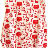 Picnic print bloomer playsuit from Oh Baby