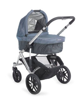 uppababy vista pram with bassinet