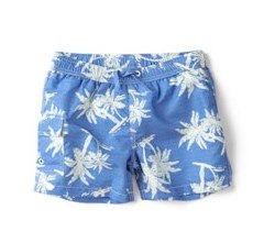 Palm trees bermuda swimshorts by Zara Kids