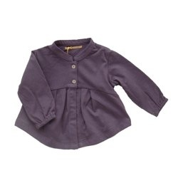 Gold - BHUMI cardigan (dusty purple)