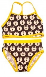 brown and yellow apples smafolk bikini