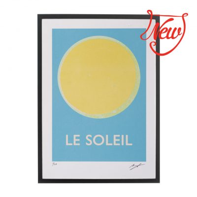 Brand new: Le Soleil and La Lune prints at Pedlars