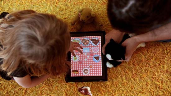 Toca Tea Party iPhone, iPod and iPad game