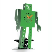 Clifford Richards robot clock