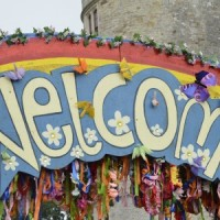 Camp Bestival Welcome sign