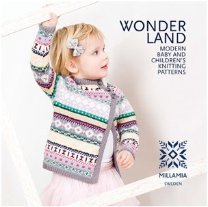New contemporary baby & children's knitting pattern book by MillaMia