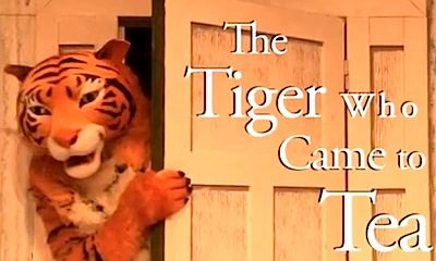 Cool Theatre: The Tiger Who Came to Tea is Back Until 2nd September 2012