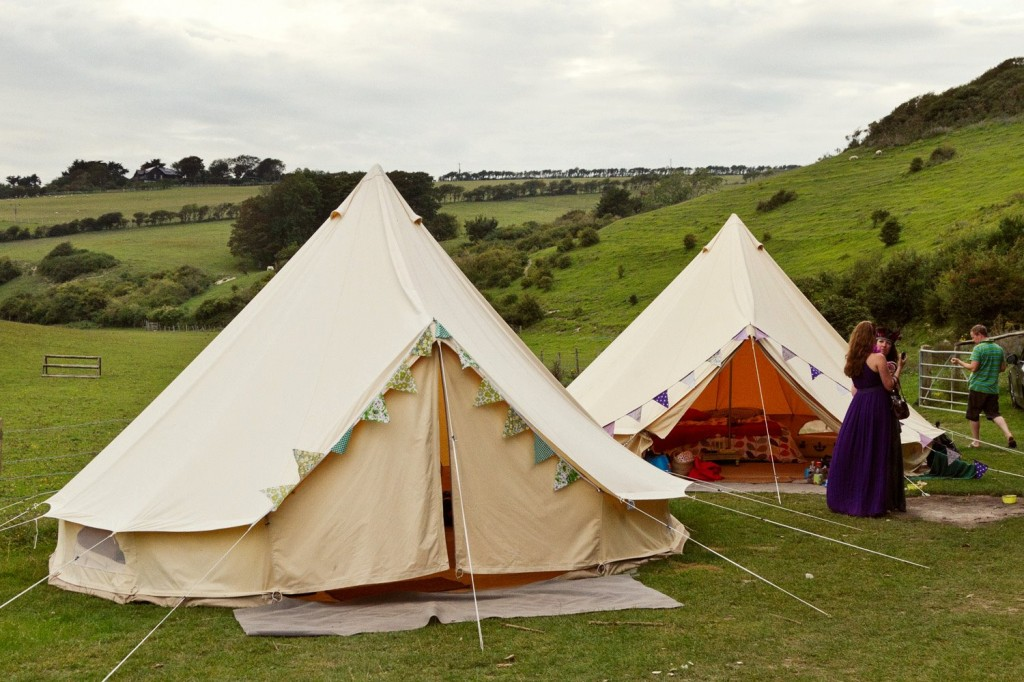 & Loveabell bell tent hire
