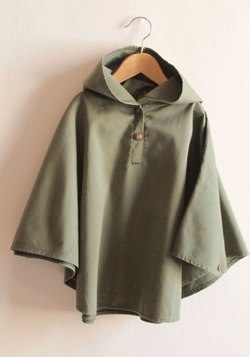 Bobo Choses Cape With Pattern Lining by Bobo Choses