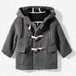 Grey boy duffle Zara Kids