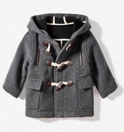 HOODED DUFFLE-COAT Zara 