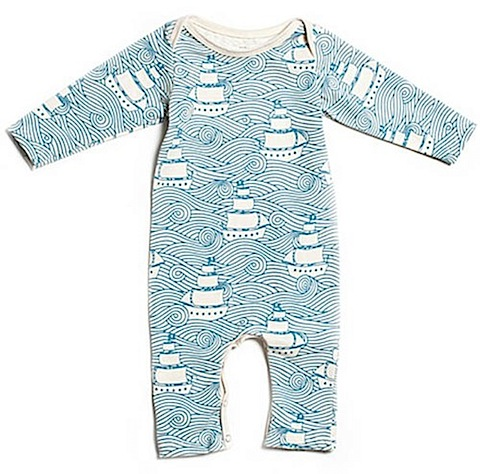 High Seas Romper by Winter Water Factory
