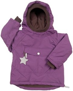 Mini A Ture Wen Purple Winter Pullover Jacket 