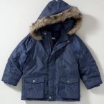 John Lewis Parka Jacket blue