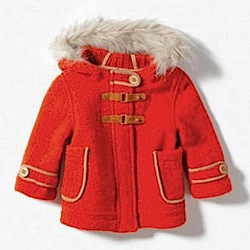 JACKET WITH FUR HOOD Zara