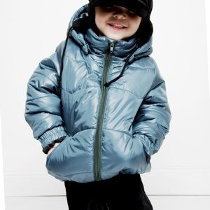 PUFFA JACKET PETROL mini rodini
