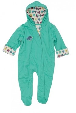 Green Baby organic green pramsuit