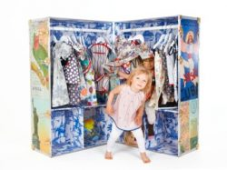 Deluna Kids wardrobe trunk