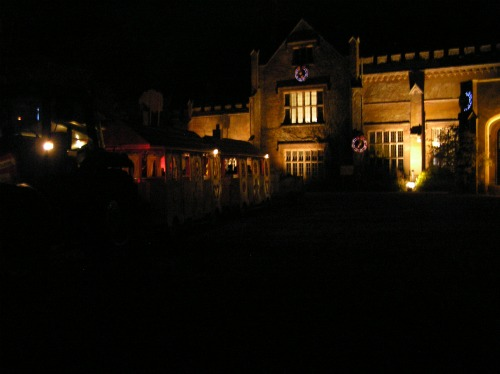Marwell House at Night