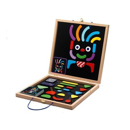 Djeco Geocreative Wooden Magnetic Set, £25.99 From Peanut & Pip