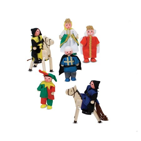 Wooden Castle Figures, £13.79 From Amazon