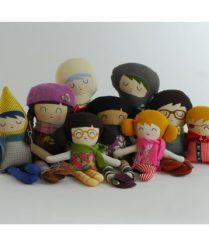Niddle Noddle Warm Sugar dolls