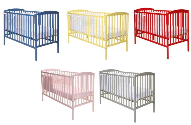 Chiconomy buy coloured cots from kiddicare