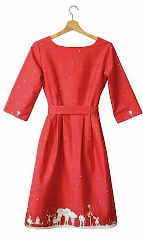 Beatrice women's dress Aunt Eva by Poppy