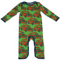 Rally cars sleepsuit