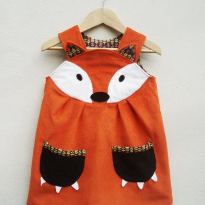 Wild Things woodland toddler dresses